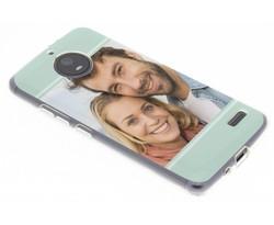 Ontwerp uw eigen Motorola Moto E4 gel hoesje (bedrukt)