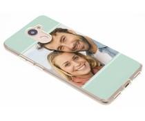 Ontwerp uw eigen Huawei Y7 (2017) gel hoesje (bedrukt)