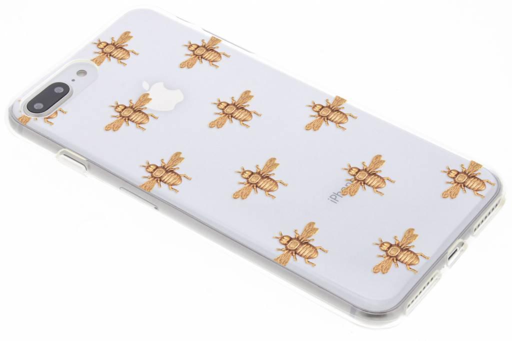 Bijen design TPU hoesje voor de iPhone 8 Plus / 7 Plus