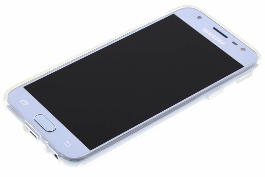 toile Étui En Silicone Design Pour Samsung Galaxy J3 (2017) KaUP2