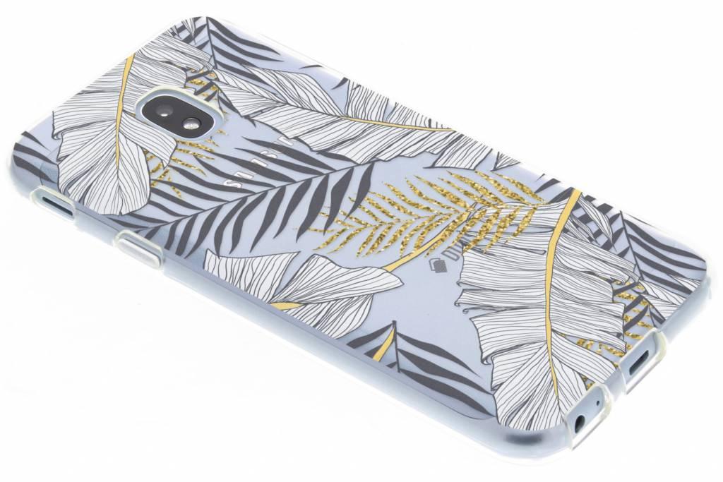 Botanic design siliconen hoesje voor de Samsung Galaxy J3 (2017)