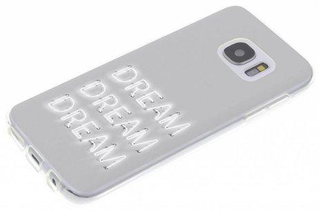 Citation Étui En Silicone Design Pour Samsung Galaxy S7 MvPiFSC