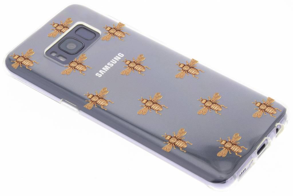Bijen design TPU hoesje voor de Samsung Galaxy S8