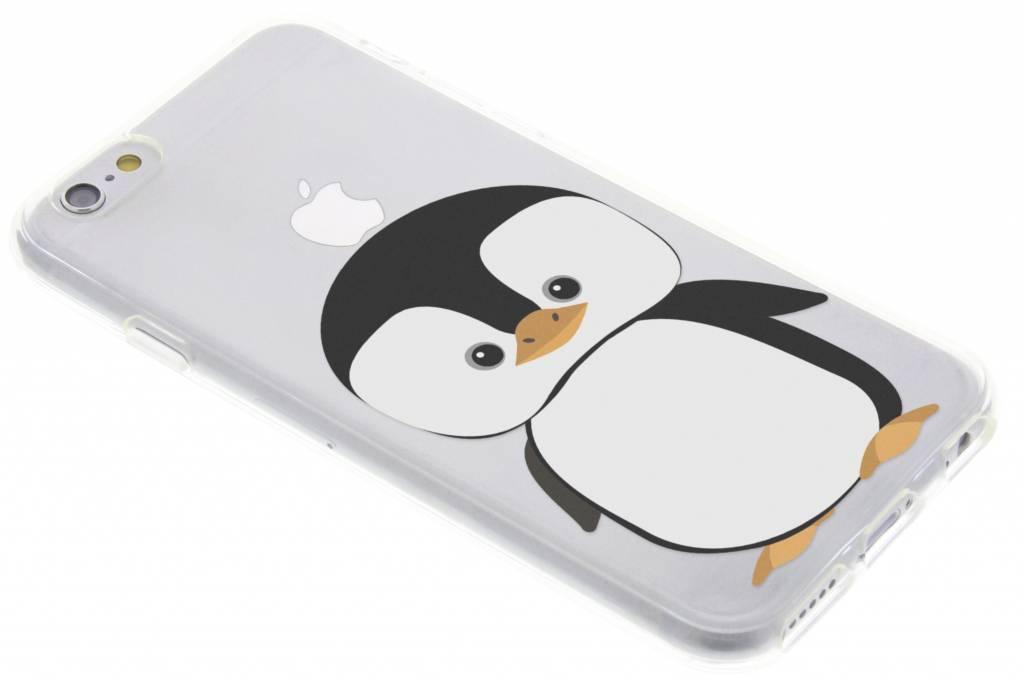 Pinguin design siliconen hoesje voor de iPhone 6 / 6s