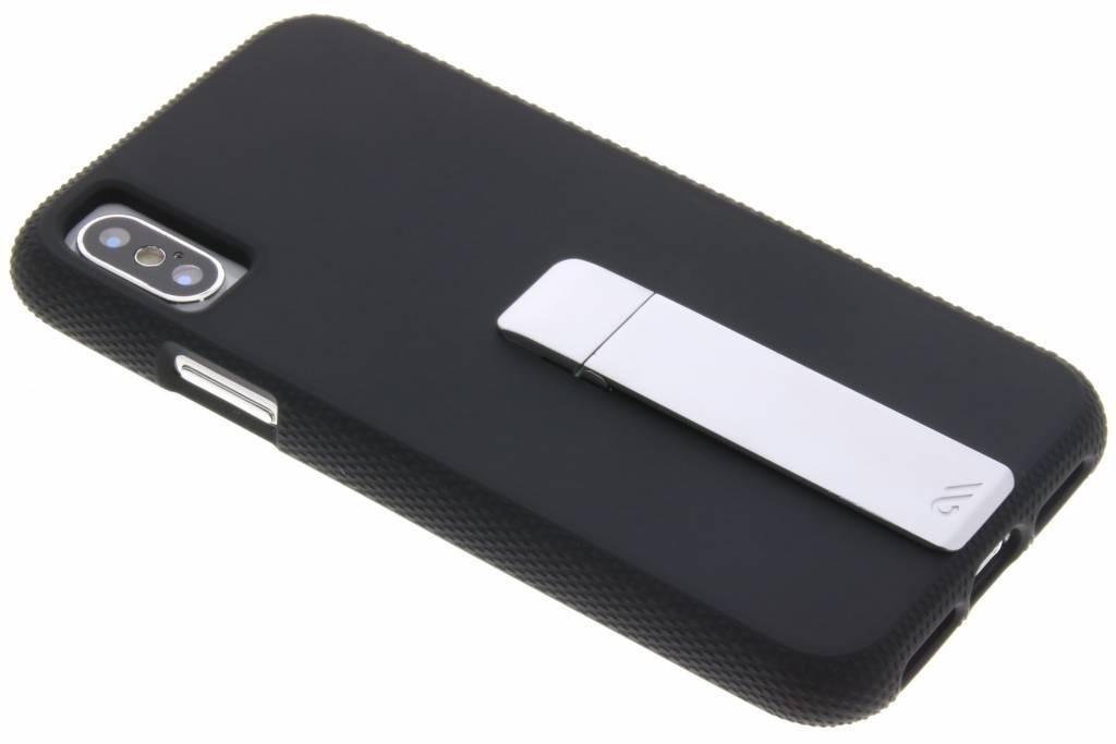 Case-Mate Zwarte Tough Stand Case voor de iPhone Xs / X