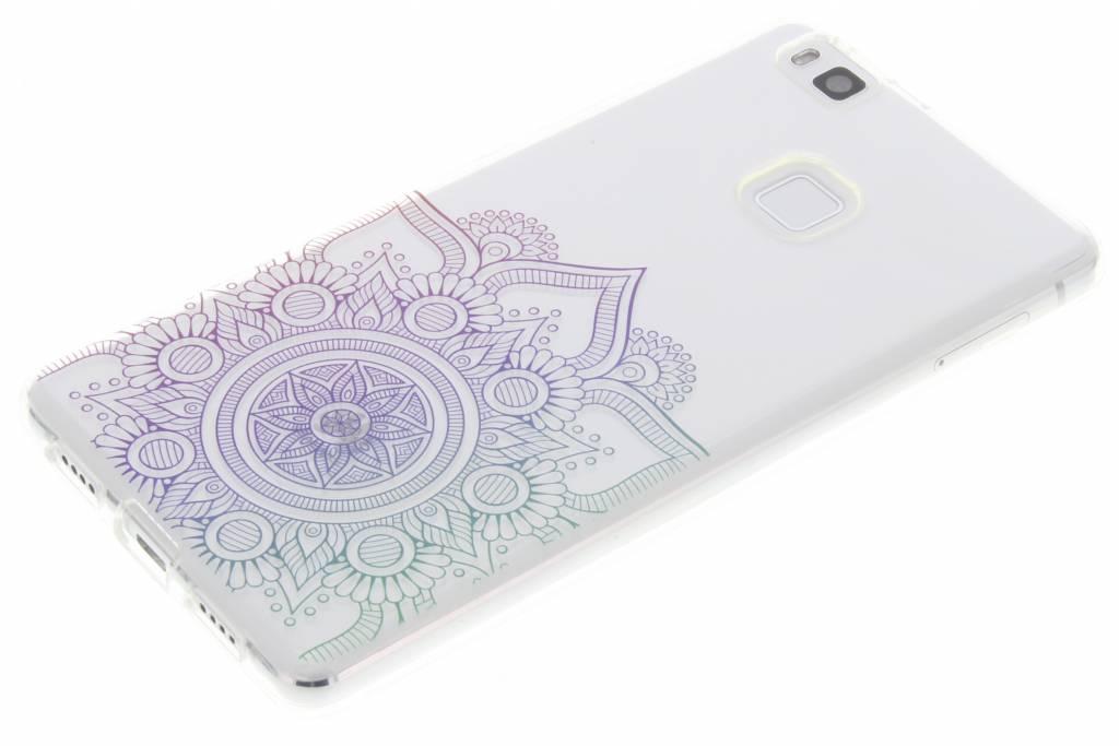 Multicolor mandala design TPU hoesje voor de Huawei P9 Lite