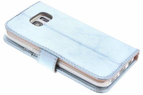 clairagiste Glamour Bleu Cas Booktype Tpu Pour Samsung Galaxy S7 vr6ZdMA