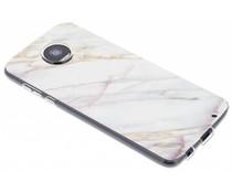 Marmer design TPU hoesje Motorola Moto Z2 Play