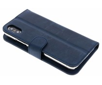 Valenta Vintage Blauw Booklet Classic Luxe iPhone Xs / X
