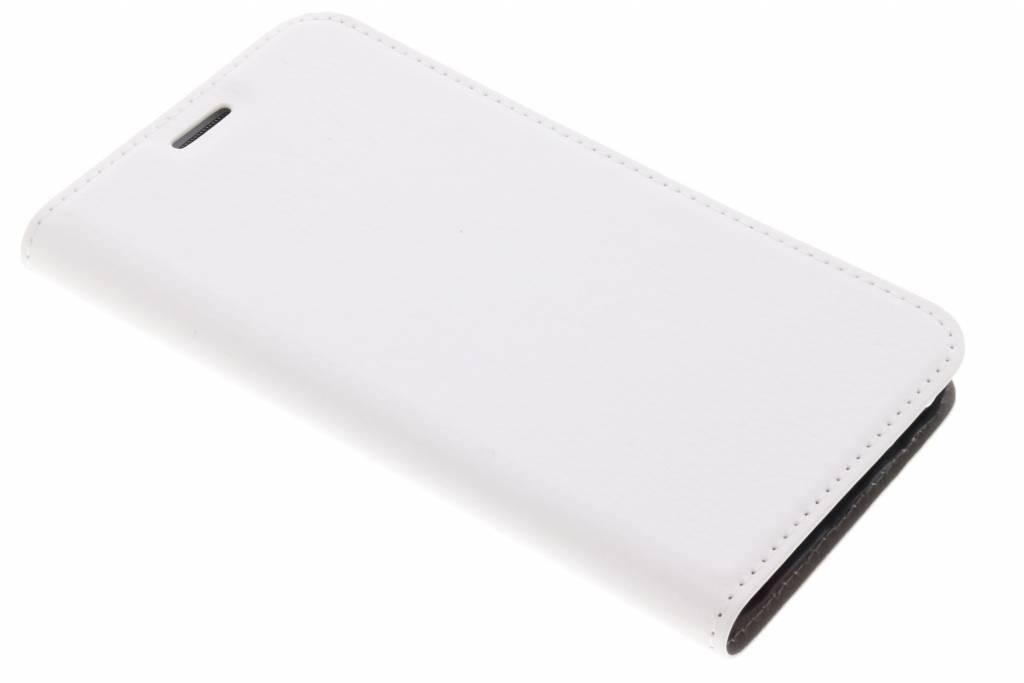 Witte Effen Booklet voor de Samsung Galaxy J5