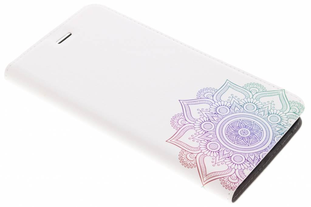 Multicolor Mandala Design Booklet voor de Asus Zenfone 3 Zoom / Zoom S