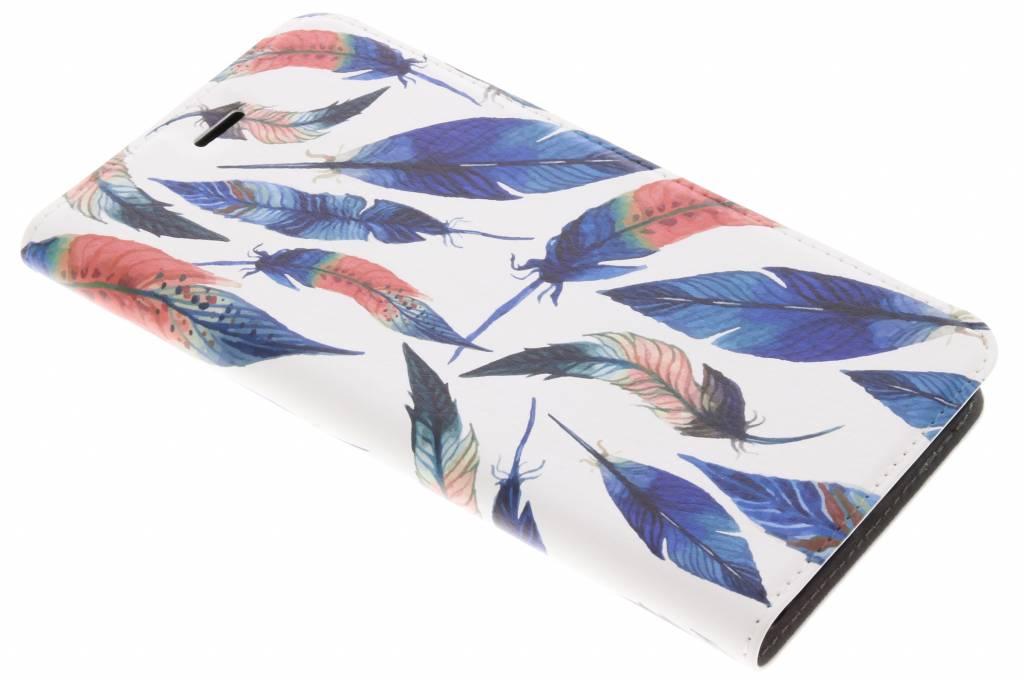 Ibiza Feathers Design Booklet voor de Asus Zenfone 3 Zoom / Zoom S