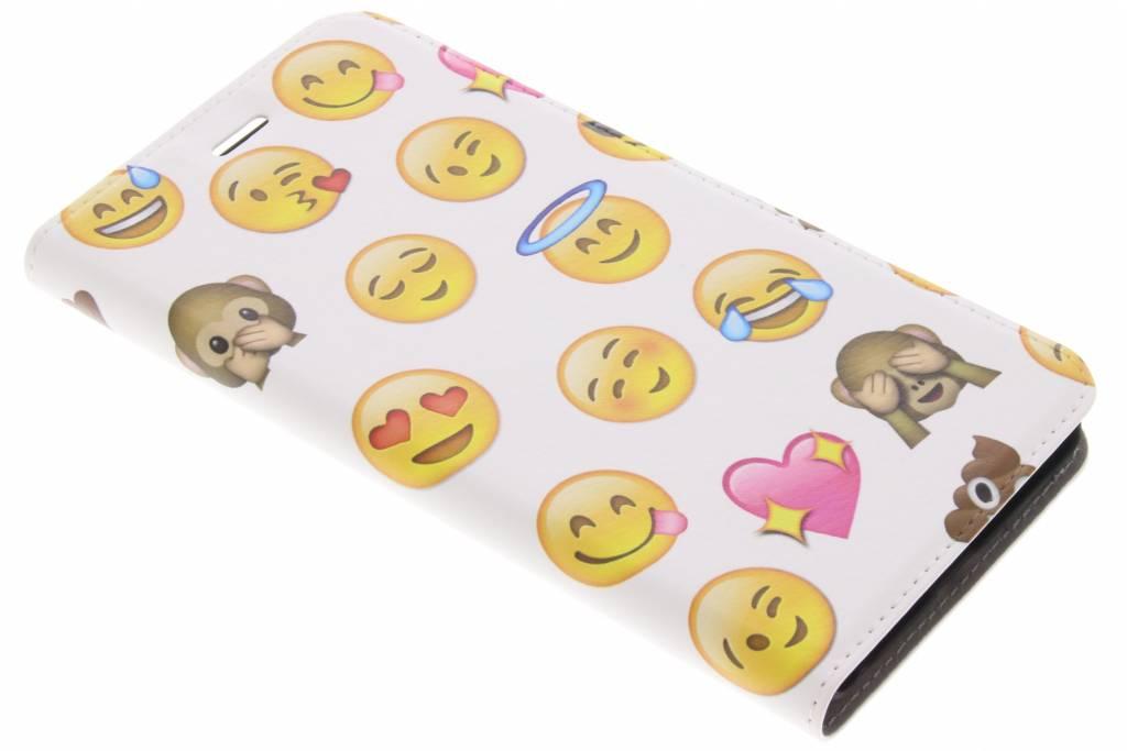 Emoji Smiley Design Booklet voor de Asus Zenfone 3 Zoom / Zoom S