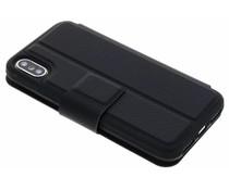 Black Rock Zwart Protective Folio iPhone Xs / X