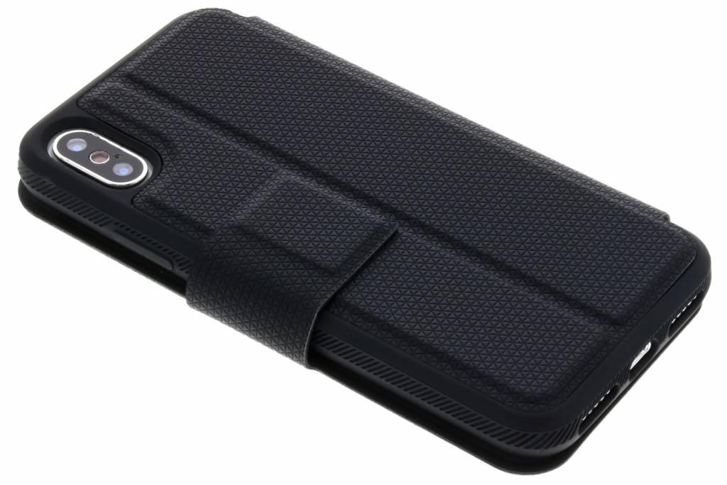 Black Rock Zwarte Protective Folio voor de iPhone X