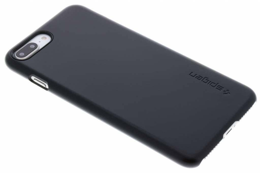 Zwarte Thin Fit Hardcase iPhone 8 Plus / 7 Plus / 6(s) Plus