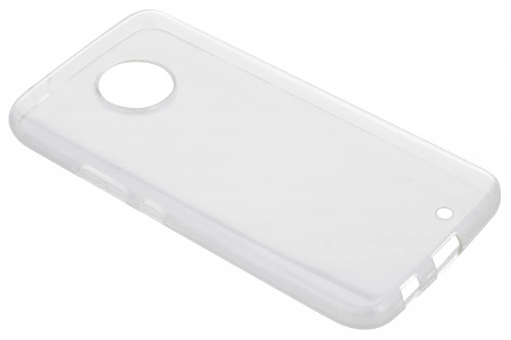 Accezz Transparante TPU Clear Cover voor de Motorola Moto X4