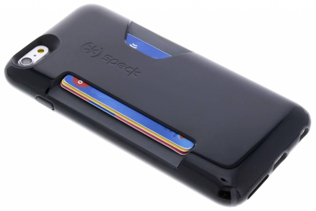 Zwarte CandyShell® Card Case voor de iPhone 6(s) Plus