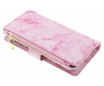 Marmer design luxe portemonnee hoes iPhone 8 / 7 / 6s / 6