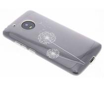 Transparant festival TPU hoesje Motorola Moto G5