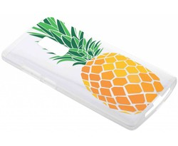 Transparant fruit design TPU hoesje OnePlus 2