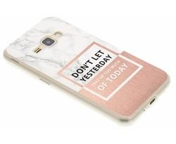 Quote design TPU hoesje Samsung Galaxy J1 (2016)