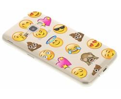 Emoji design TPU hoesje Samsung Galaxy J1 (2016)