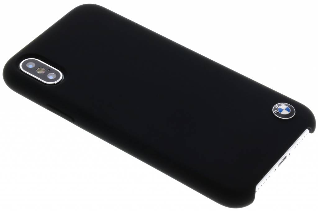 BMW Zwarte Silicone Hard Case voor de iPhone Xs / X