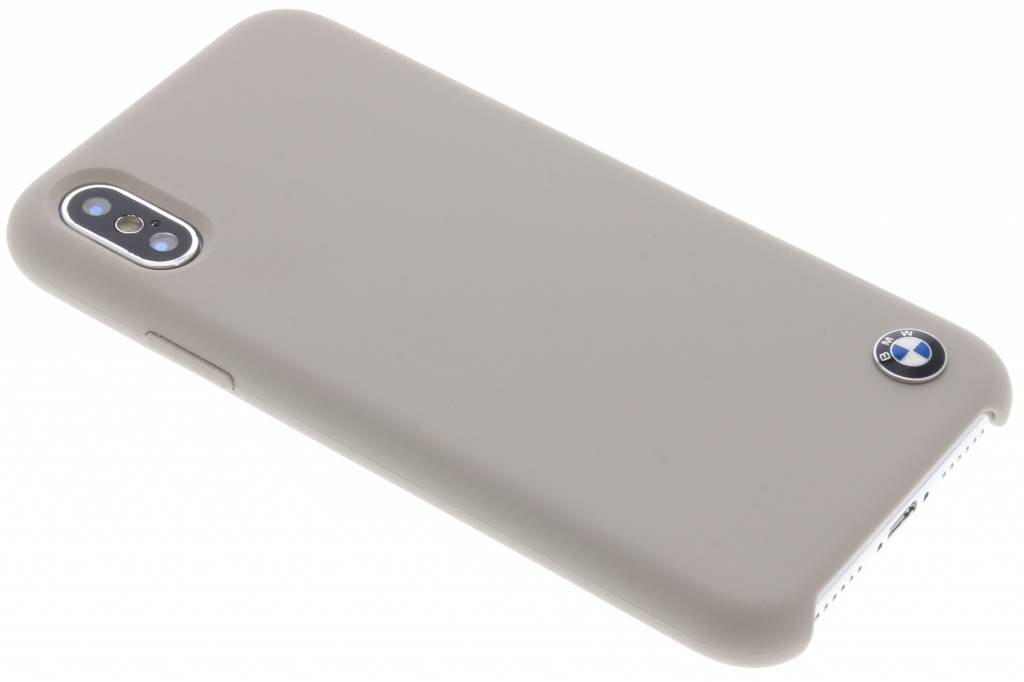 BMW Taupe Silicone Hard Case voor de iPhone Xs / X