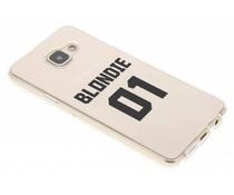 Blondie TPU hoesje Samsung Galaxy A3 (2016)