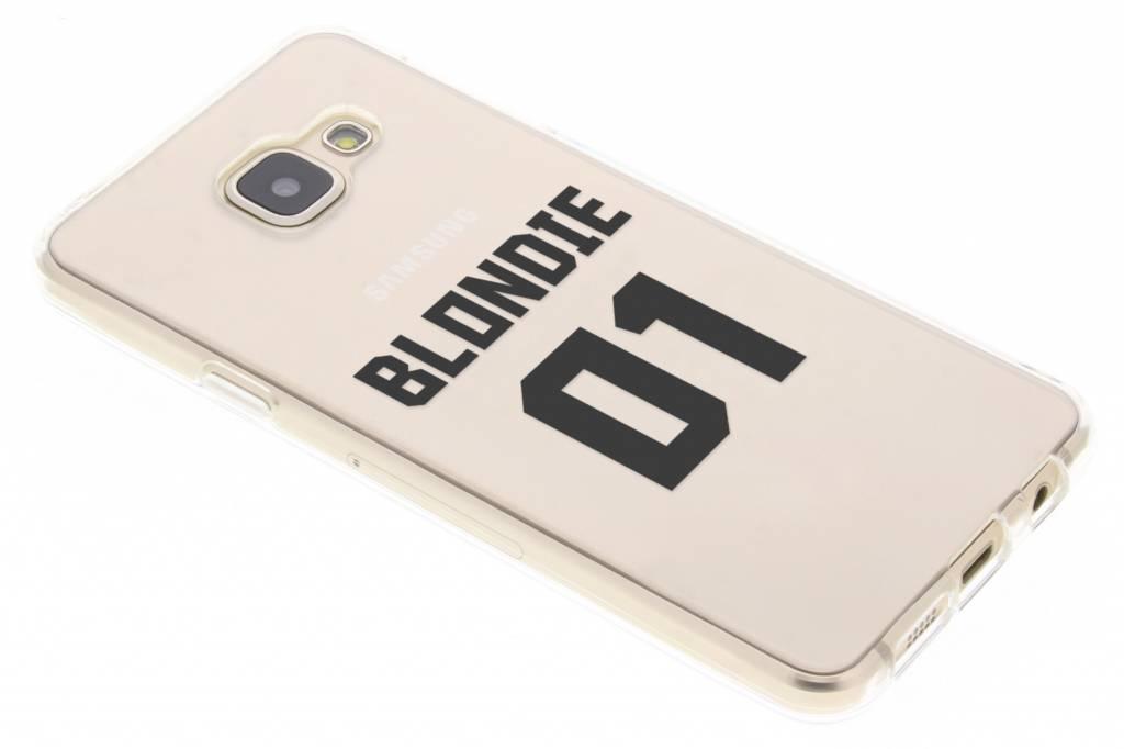 BFF Blondie Love TPU hoesje voor de Samsung Galaxy A3 (2016)