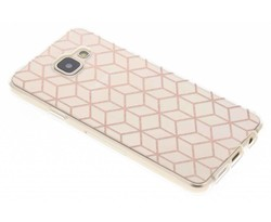 Cubes design TPU hoesje Samsung Galaxy A3 (2016)