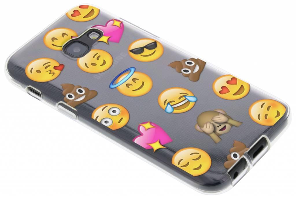 Emoji Cas Smiley Tpu Pour Samsung Galaxy S8, Plus