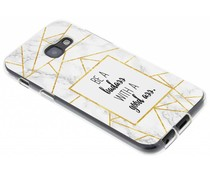 Quote Badass TPU hoesje Samsung Galaxy A3 (2017)