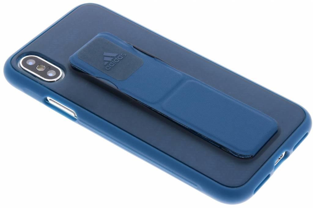 adidas Sports Blauwe Grip Case voor de iPhone X