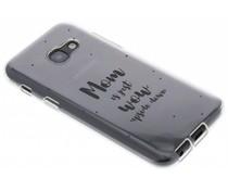 Quote design TPU hoesje Samsung Galaxy A3 (2017)