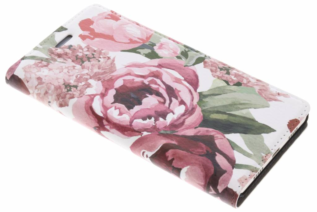 Bloemen Design Booklet voor de Huawei P8 Lite