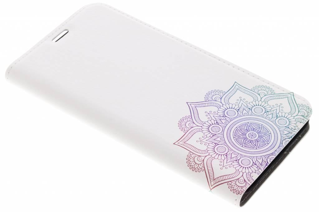 Multicolor Mandala Design Booklet voor de LG Q6