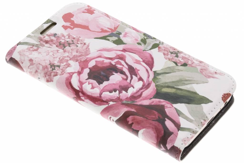 Bloemen Design Booklet voor de Samsung Galaxy A3 (2017)