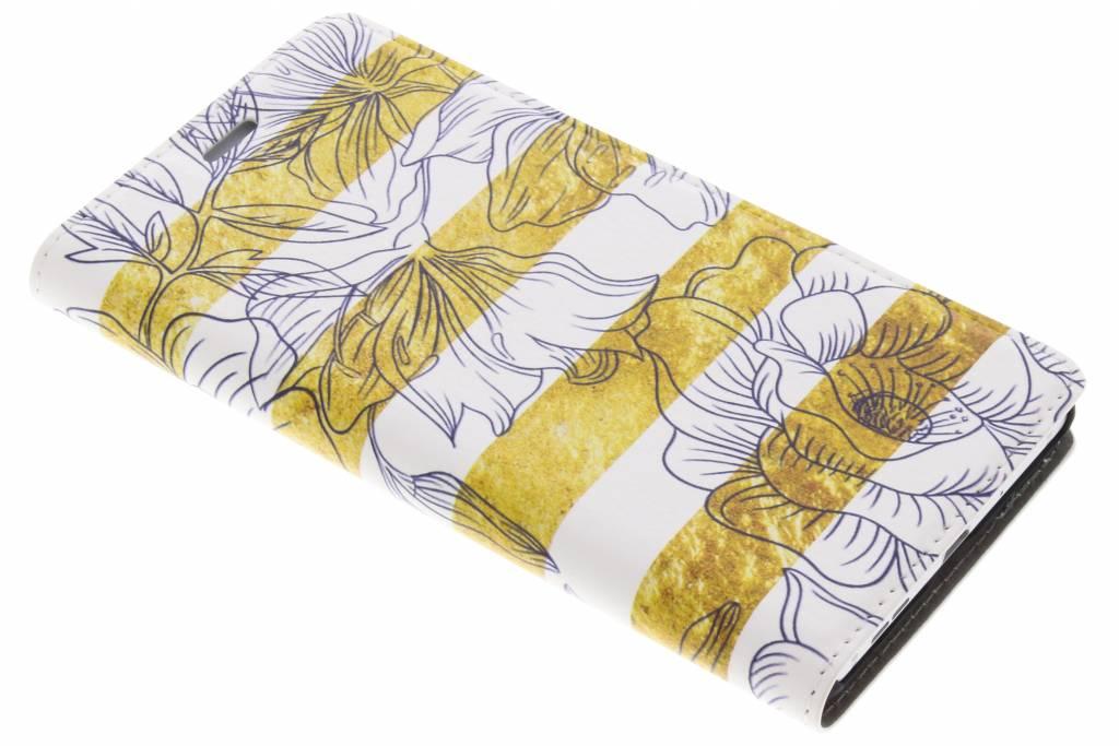 Bloemen Design Booklet voor de Nokia 3
