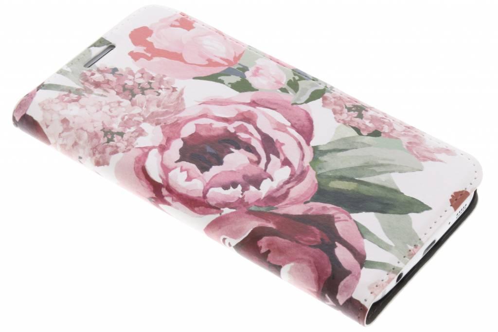 Bloemen Design Booklet voor de Samsung Galaxy S7