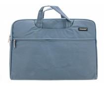 Blauw universele laptoptas 15 inch