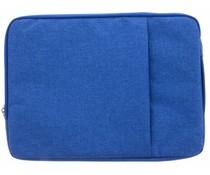 Blauw textiel universele sleeve 13.3 inch
