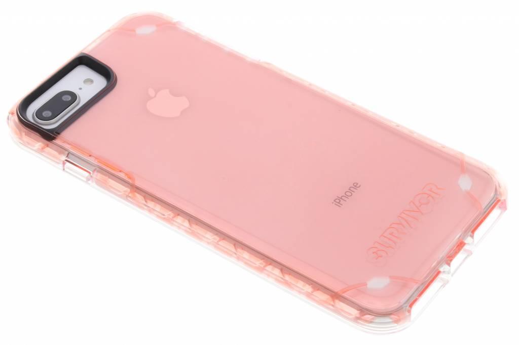Roze Survivor Strong Case voor de iPhone 8 Plus / 7 Plus / 6(s) Plus