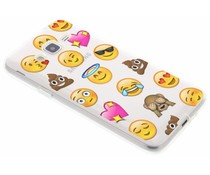 Emoji design TPU hoesje Samsung Galaxy J3 / J3 (2016)