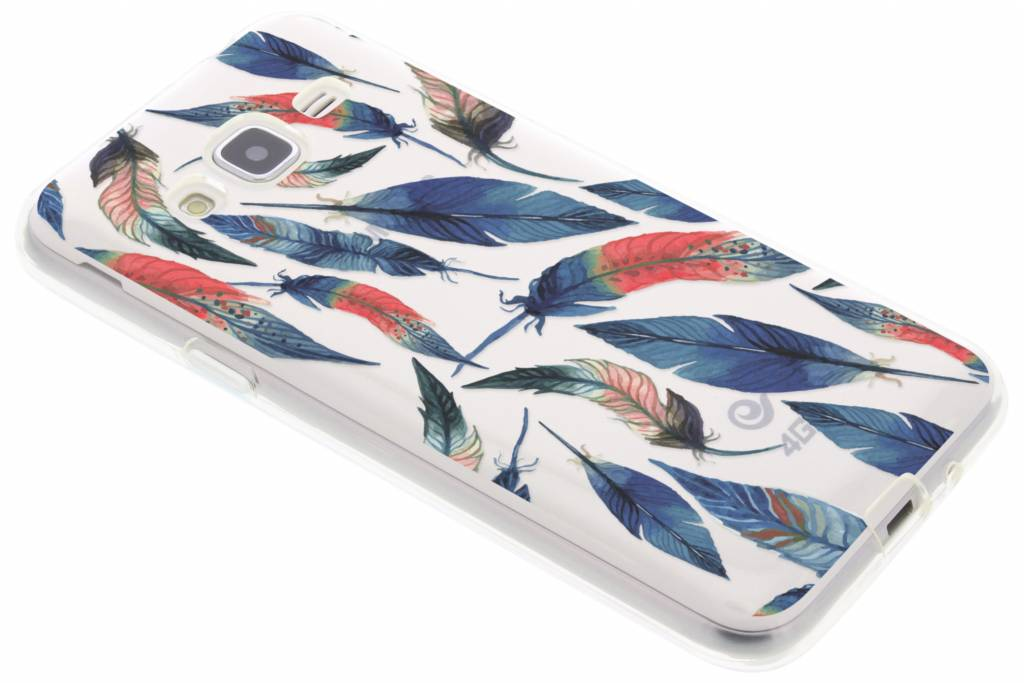 Ibiza feather case voor de Samsung Galaxy J3 / J3 (2016)