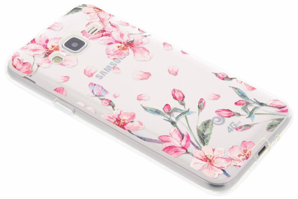 Bloesem Watercolor TPU hoesje Samsung Galaxy J3 / J3 (2016)