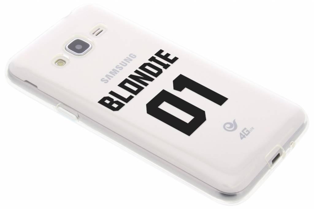 BFF Blondie Love TPU hoesje voor de Samsung Galaxy J3-J3 (2016)