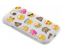 Emoji design TPU hoesje Samsung Galaxy S3 / Neo