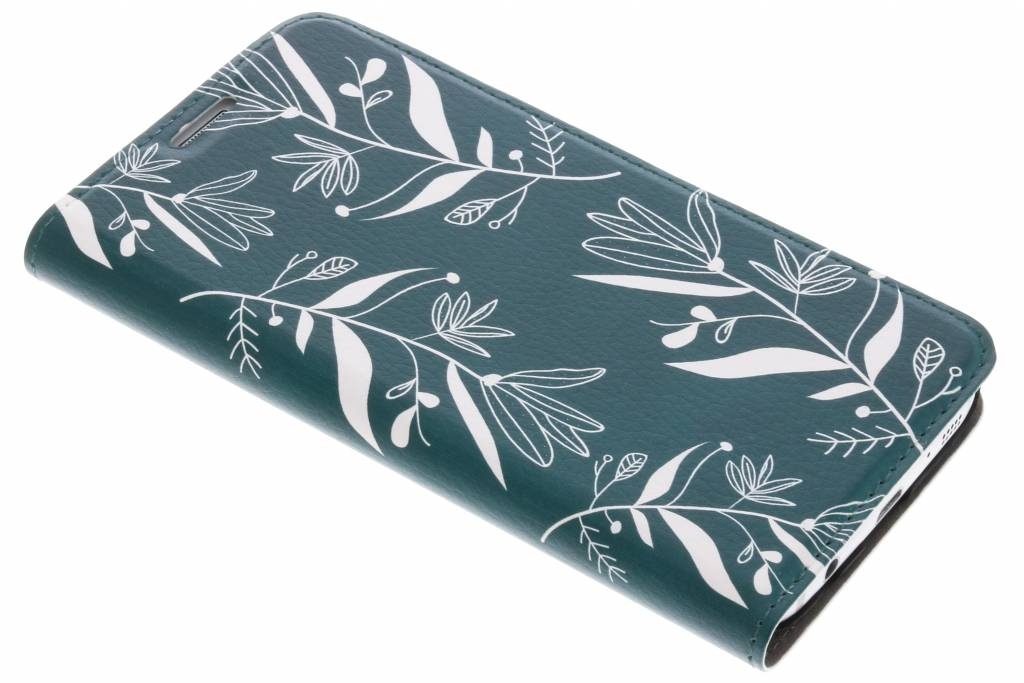 Botanic Bloem Design Booklet voor de Samsung Galaxy S7